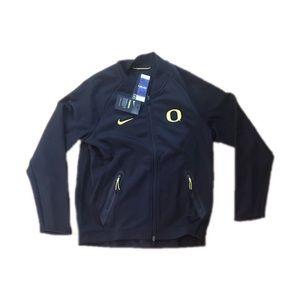 Oregon Ducks Men's Sideline Zip Up Jacket Large